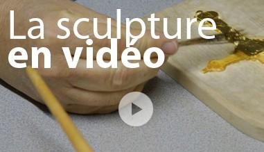 La sculpture en vidéo
